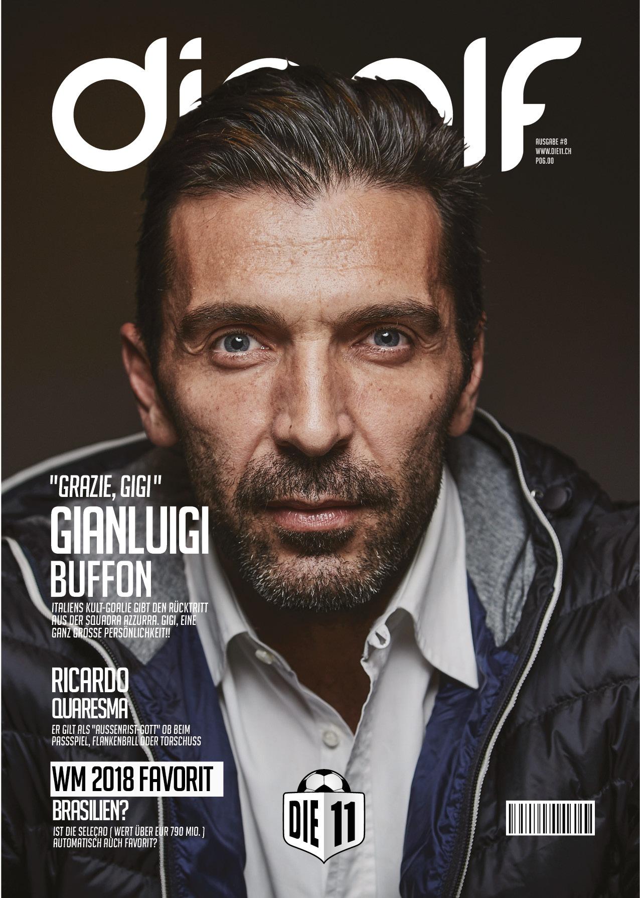 Gianluigi Buffon Die11 Cover