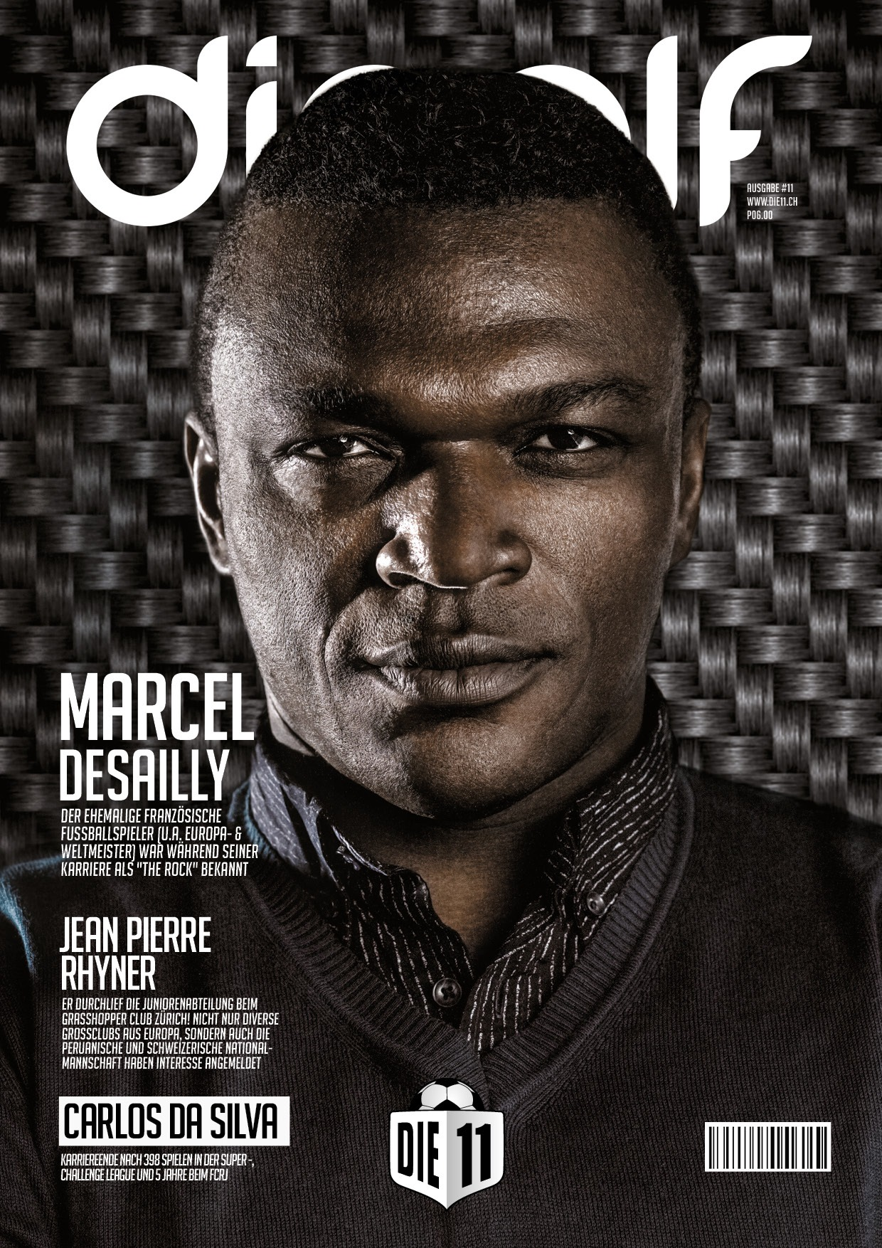 die11 cover Marcel Desailly