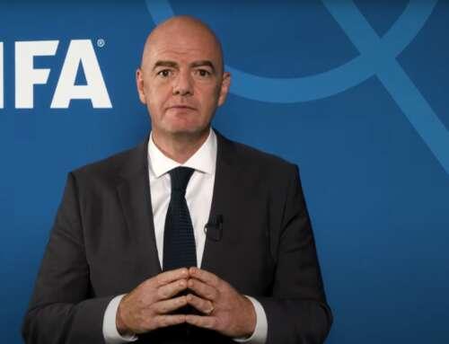 Anschreiben des FIFA-Präsidenten an die FIFA-Mitgliedsverbände
